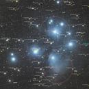 M45 - The Pleiades - LRGB,                                Salvopa