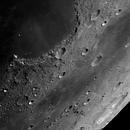 Sinus Iridum, Mare Frigoris, Harpalus and Pythagoras,                                MAILLARD