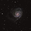 Pinwheel Galaxy,                                Saied Asfa