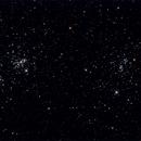 NGC869 & NGC884 Perseus Double Cluster,                                Mark Eby
