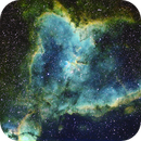 IC 1805 - Heart Nebula - Narrow Band ,                                Dennis Vollink