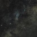 Milky Way with M16  M17  M22 - DSLR / 85mm fix lens,                                KiwiAstro