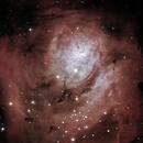 M8 nebulosa da Lagoa 10-05-2021 (Crop),                                Wagner