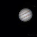 Jupiter, Io, Ganymede & Europa - 3:38UT - 3 February 2016,                                Roberto Botero