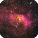 Bubble Nebula  : HOS,                                Mike Kline