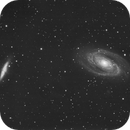 M81 and M82 with SN2014J,                                Mauro Narduzzi
