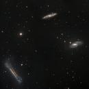 Tripletto  Leone NGC3628 M65 M66,                                Alessandro Speranza