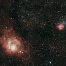 Lagoon Nebula,                                Matthias Steiner