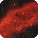 California Nebula close-up in dual narrowband,                                Janos Barabas