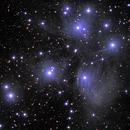M45 - dusting off the Pleiades,                                Tom Gray