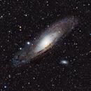 M31 Andromeda Galaxy,                                Colin Studevan