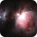 M42 and Running Man,                                Robin Clark - EAA imager