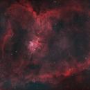 IC 1805 - Heart Nebula in HOO,                                nerdybeardo
