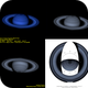 Polar Projection in Saturn,                                Astroavani - Ava...