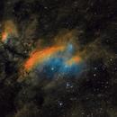 IC4628 - The Prawn nebula,                                Steve de Lisle