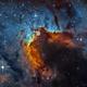 SH2-155 the Cave Nebula,                                Caroline Berger