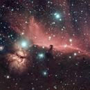 Flame and Horsehead Nebula,                                Jessi Wenke