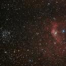 NGC7635 M52,                                antares47110815