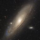 M31 Andromeda Galaxy,                                Boo Kuu