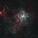 NGC 2070 HOO Heavily Deconvolved,                                Colin
