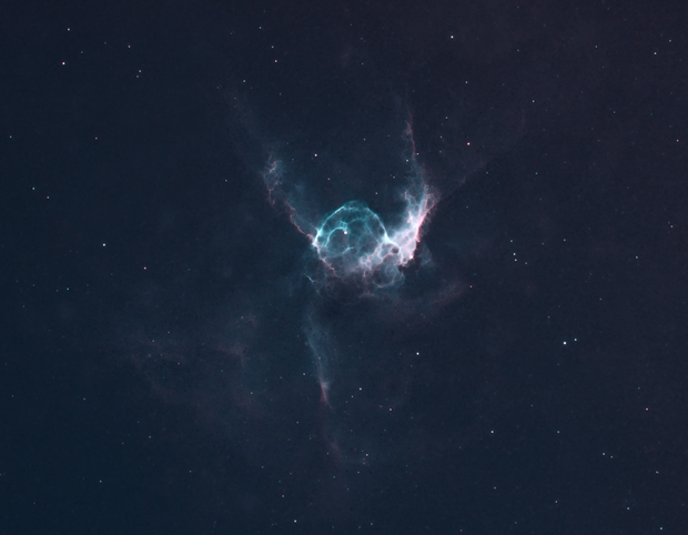 NGC 2359  Thor's  Helmet,                                Barczynski