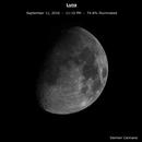 Waxing Gibbous Moon - 9/11/16,                                Damien Cannane