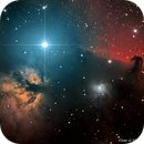 Flame and Horsehead Nebulae,                                Richard Pattie