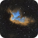 NGC 7380 The Wizard Nebula in SHO,                                Greg Ray