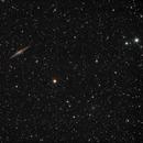 NGC 891 and Abell 347,                                Marin (Márton) Prodán