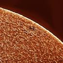 Reprocessing solar image 20181208,                                Sergio Alessandrelli