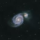 M51 The Whirlpool Galaxy,                                jihongc