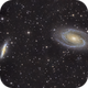 Bode's Galaxy and Cigar Galaxy,                                Lars Frogner
