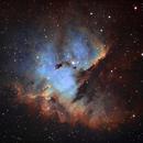 Pacman Nebula,                                chuckp