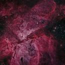 Carina Nebula Mosaic (12 panels),                                Matt Balkham
