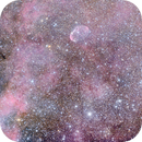 NGC 6888 Wide Field,                                Riccardo A. Ballerini