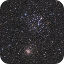 M35 and 37456 stars on the field,                                kaeouach aziz