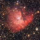 Nebulosa Pacman (NGC 281) rielaborazione con Pixinsight,                                Giuseppe Nicosia
