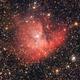 Nebulosa Pacman (NGC 281) rielaborazione con Pixinsight,                                  giusnico