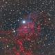 IC 405 - The Flaming Star Nebula,                                Tom Chitty