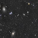 Markarian Chain - Virgo Cluster,                                Pascal Gouraud