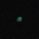 Narrowband Crab Nebula - January 2017,                                Chappel Astro
