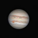 Jupiter (RGB) with GRS,                                Markus A. R. Langlotz