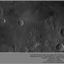 Moon - region around Agrippa, ZWO ASI290MM, 20200907,                                Geert Vandenbulcke
