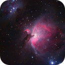 The Orion nebula from February 2019,                                André