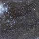 """Pleiades and LBN 777 (""""The Baby Eagle Nebula""""),                                gigiastro"""