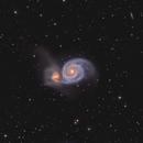 The whirlpool Galaxy -  M51 - HaLRGB,                                Arnaud Peel
