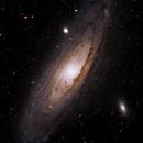 M31 - Andromeda Galaxy,                                Jeff Kisslinger