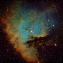 NGC 281 (Pacman Nebula) in SHO pallete.,                                Alexander Zaitsev