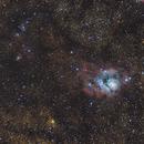 M8 Lagoon Nebula,                                rupeshvarghese