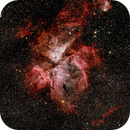 Carina nebula (NGC3372),                                Ad Kooiman